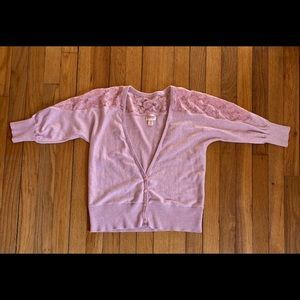 Pale pink Mossimo Supply Co. sweater